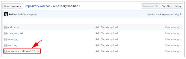 Download Kodi Bae Repository